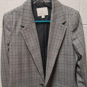 Plaid Suit Jacket